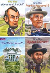 U.S. Presidents and Wives - Who Was? Set of 17