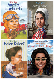 American Women of Distinction - Who Was? Set of 8