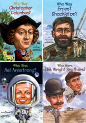 Explorers and Engineers Who Was? Set of 8