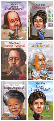 Famous Authors - Who Was? Set of 15