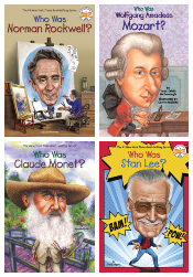 Creative Minds - Who Was? Set of 6
