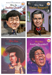 Entertainers and Innovators - Who Was? Set of 9