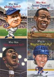 Sports Figures - Who Was? Set of 10